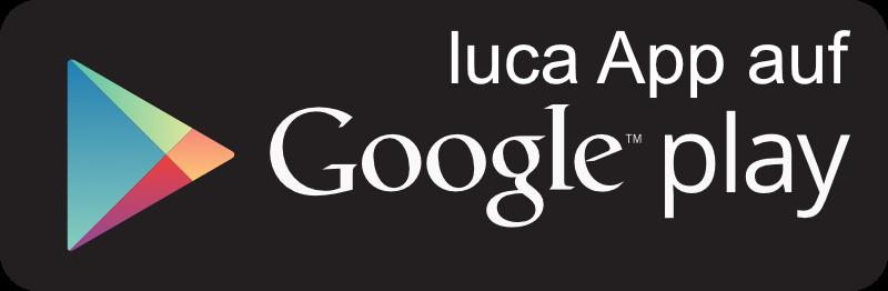 luca App auf Google's Playstore
